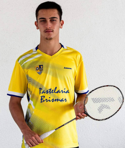 Diogo Gloria Kawasaki Badminton Team new